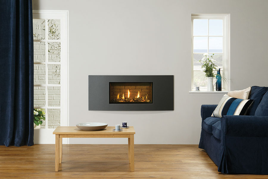 Studio 1 Slimline Verve at Sussex Fireplace Gallery