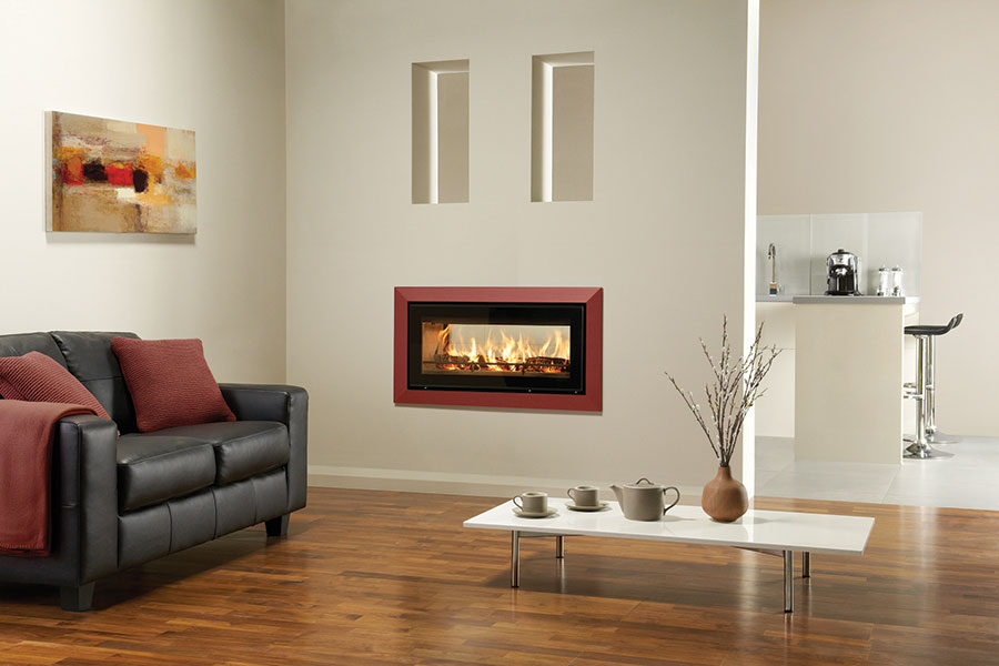 Riva Studio 2 Duplex with Bauhaus Frame at Sussex Fireplace Gallery