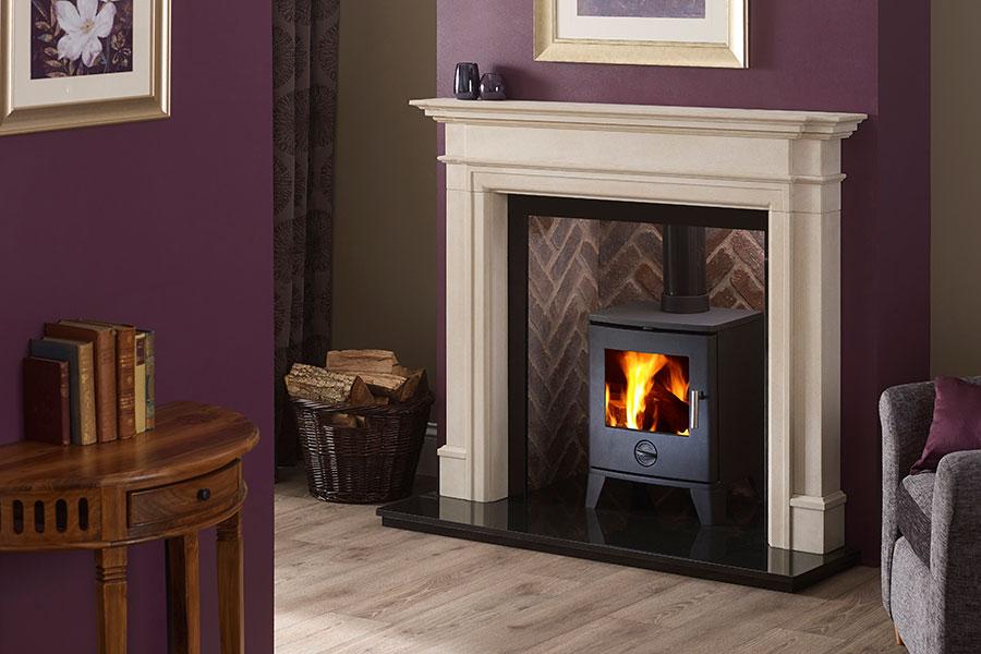 Scene 490 Multifuel Stove Sussex Fireplace Gallery