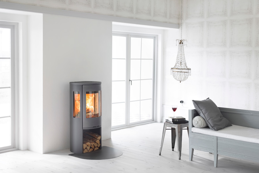 Contura 556 style - Grey -  Sussex Fireplace Gallery