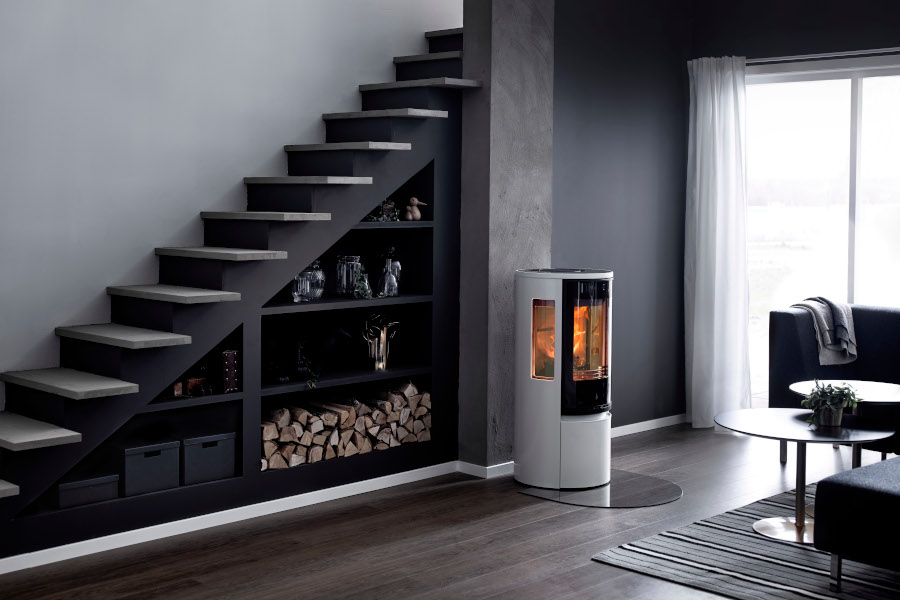 Contura 556g style - white -  Sussex Fireplace Gallery
