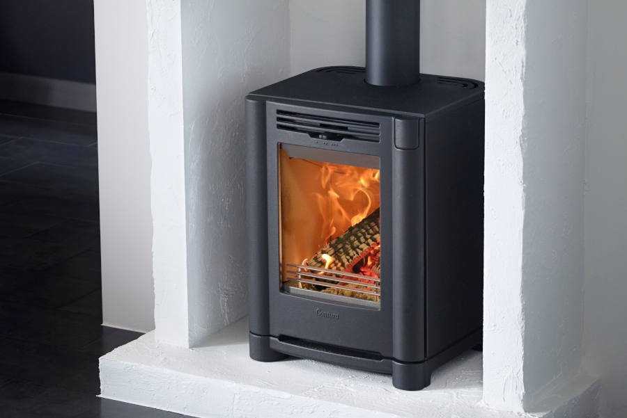 Contura i4fs classic black portrait Sussex Fireplace Gallery