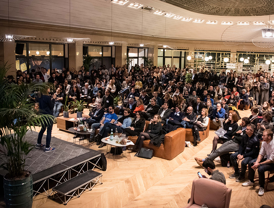 Coaching pitch startup WeWork Labs Paris