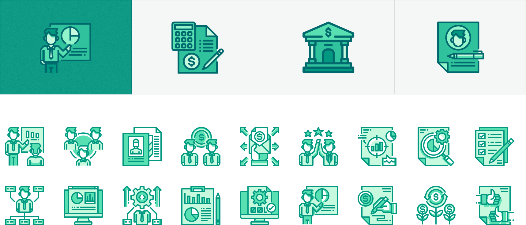 Icons Pack Design and Development