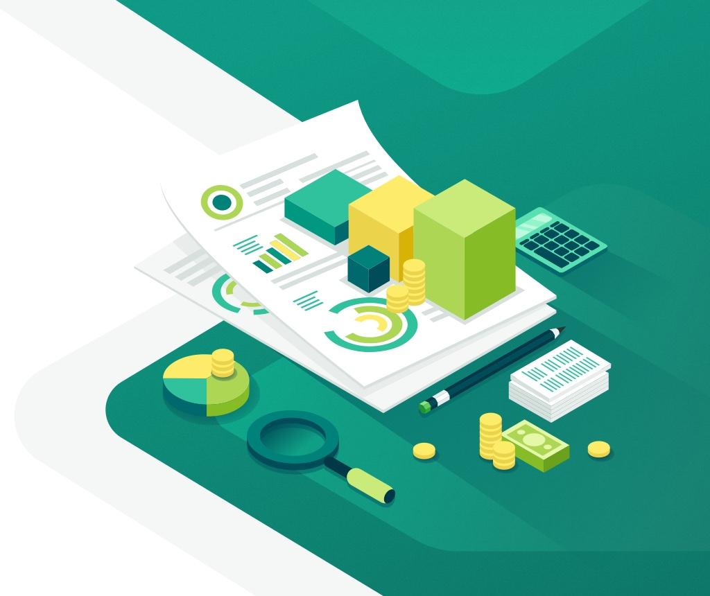 illustration design finance and audit