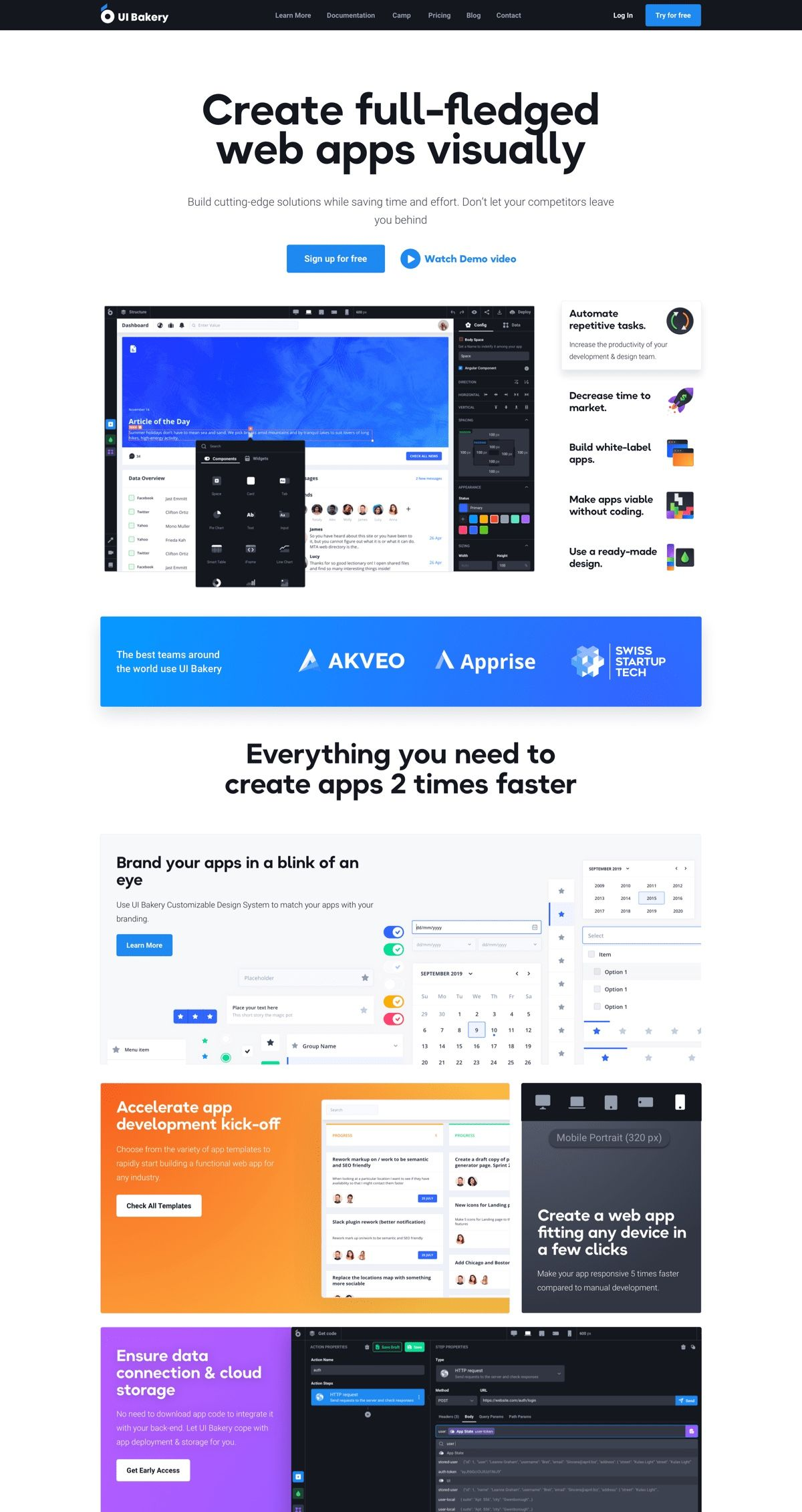 Branding, Website Design & Development for UI Builder