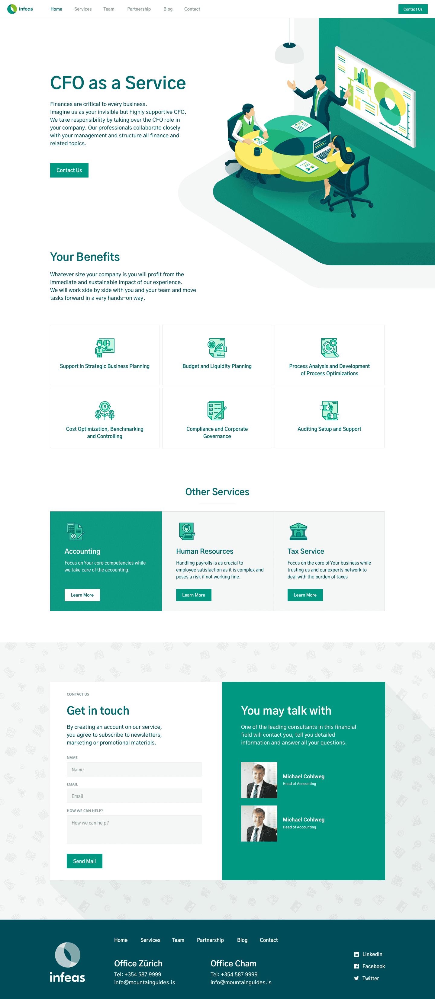 Branding, Website Design & Development for Finance Service
