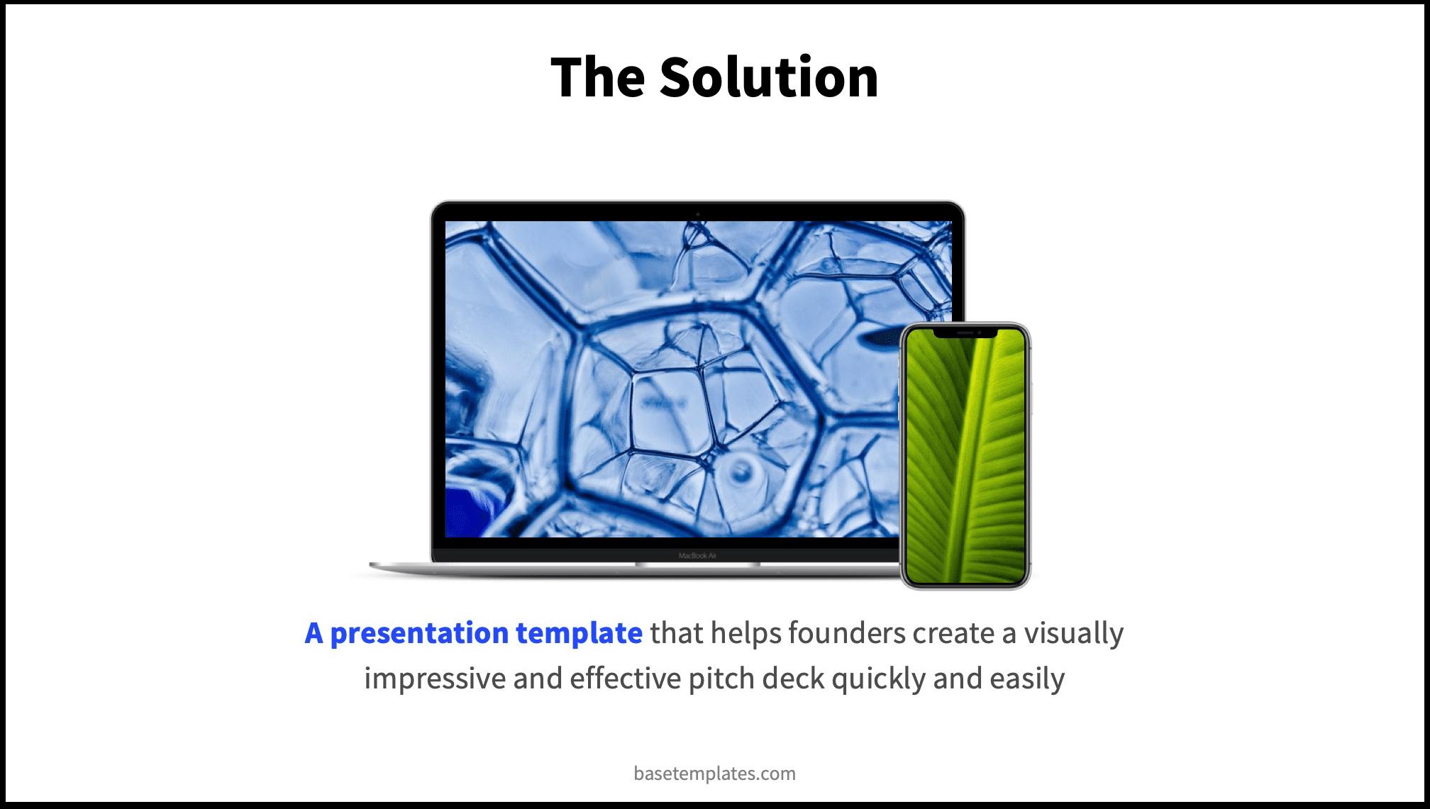Solution Slide