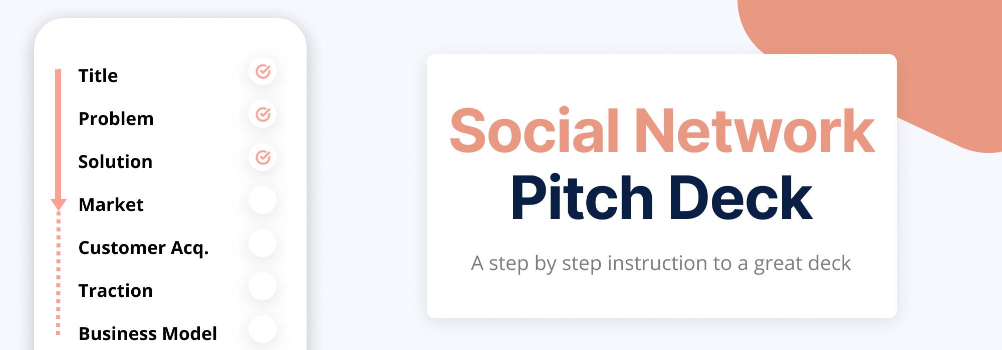 How to Create a Social Network Pitch Deck