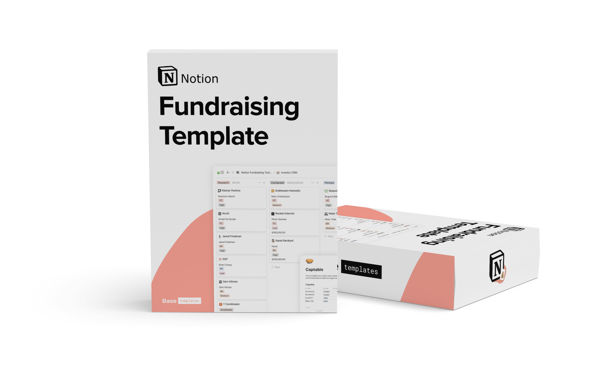 Notion Fundraising Template for StartUps