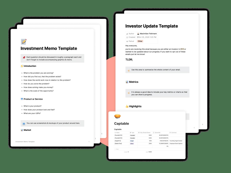 Investor Update Template for Startups