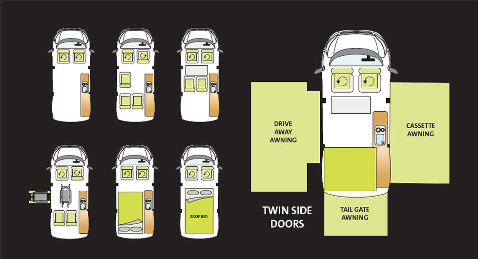 auto campers motorhome layout