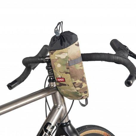 alpkit stem bag on road bike