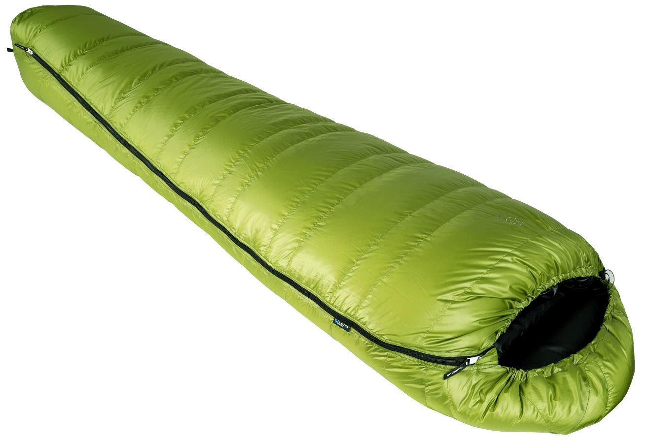 cumulus lite line down sleeping bag for wild camping