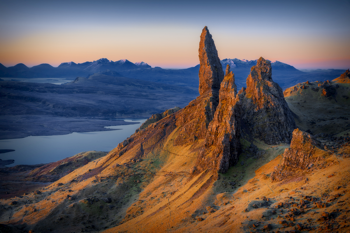 Old Man of Storr at sunset