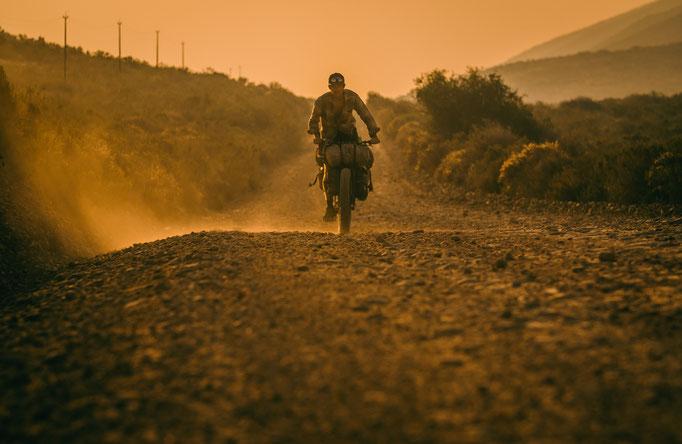 Ben dusty on bike