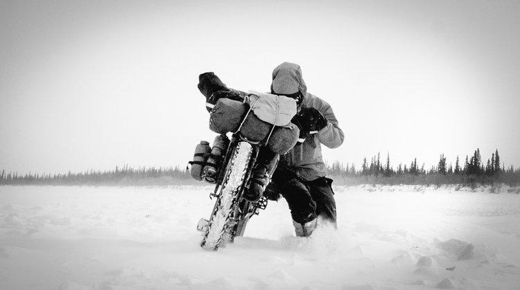 Bike Push - The Frozen Road B_W.jpg