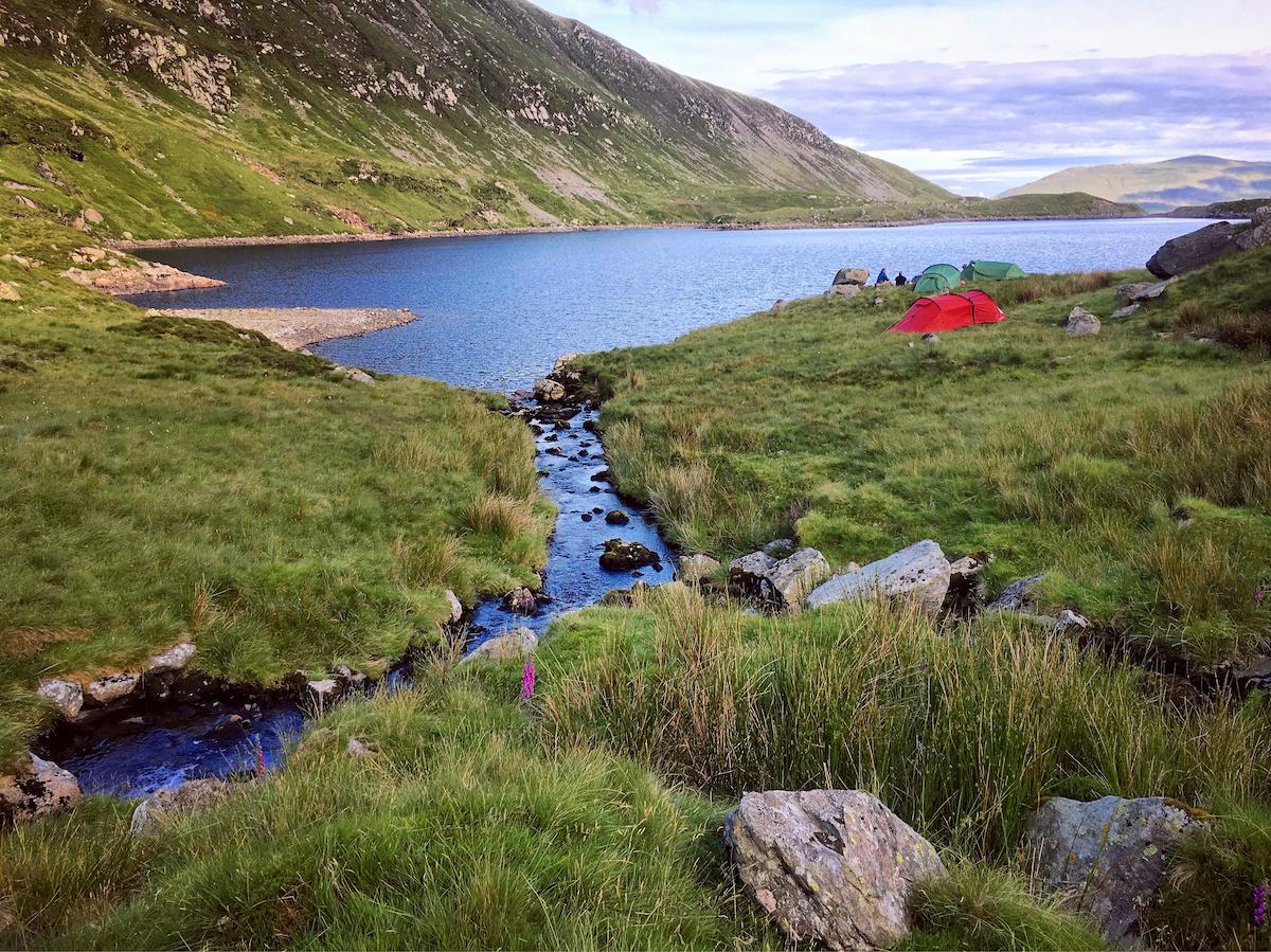 Wild Camping Snowdonia National Park