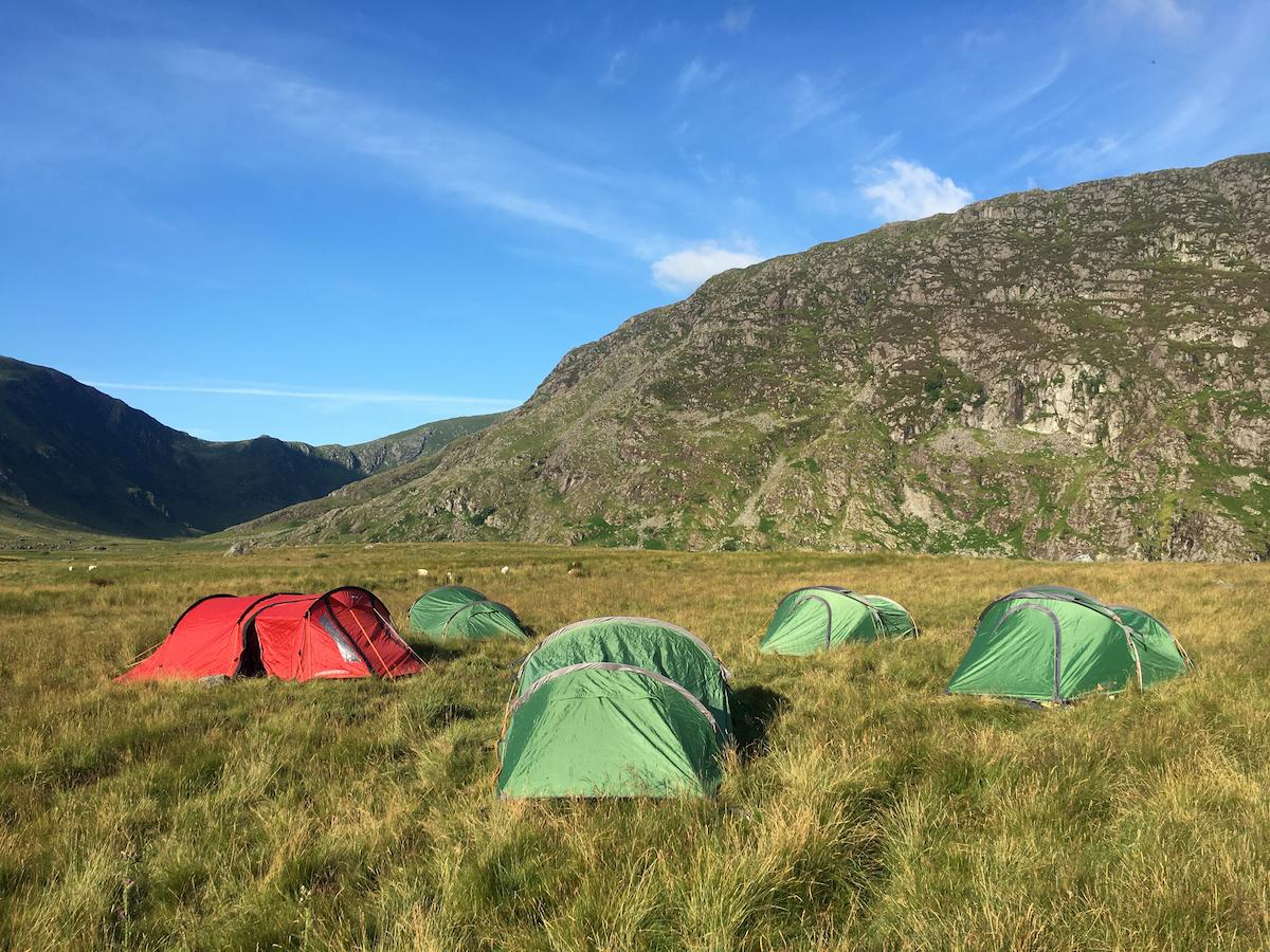 Wild camp Snowdon