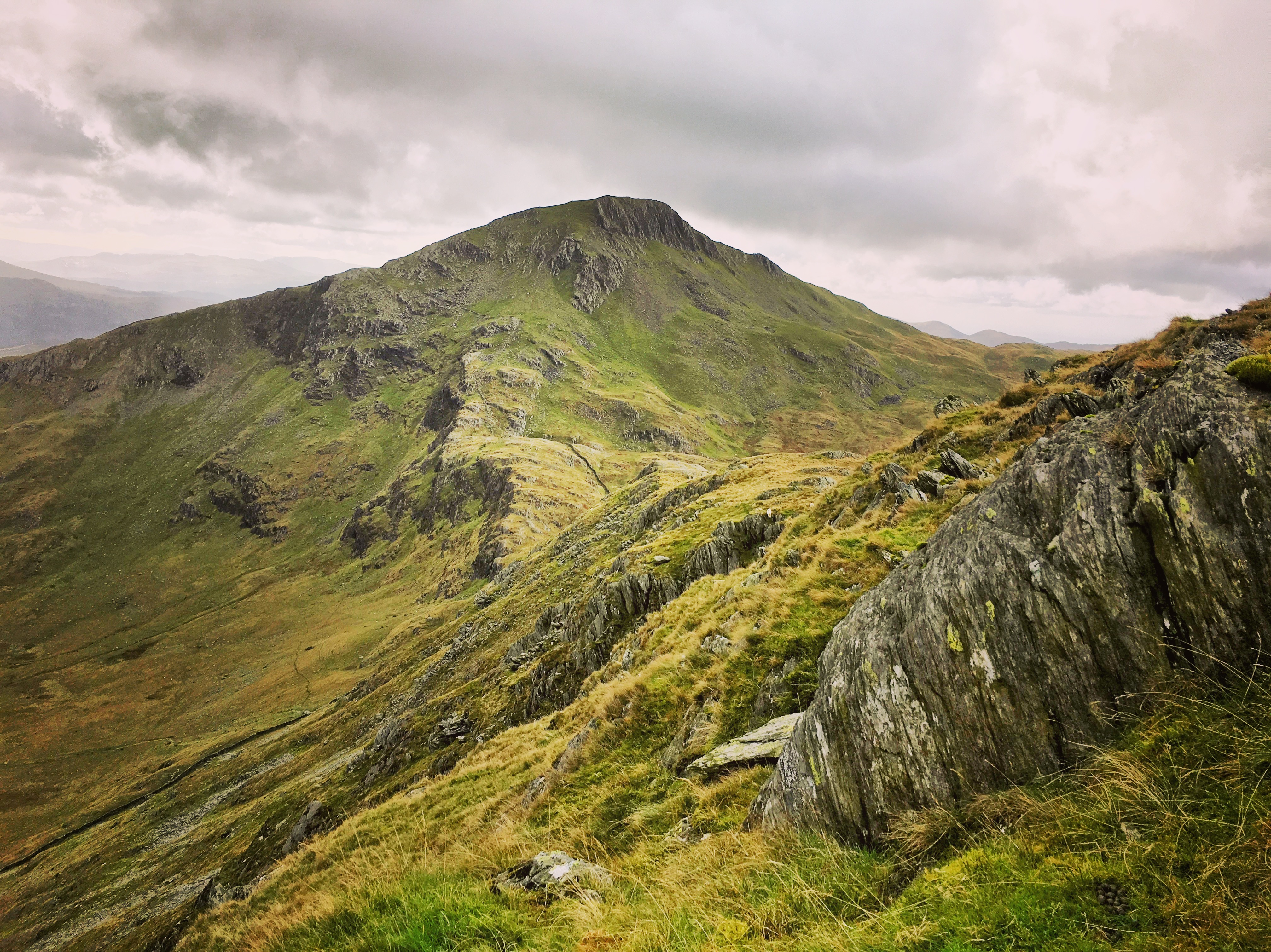 A mountain on the 3 peaks challenge