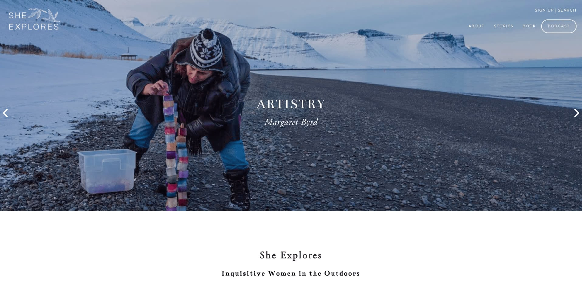She Explores blog