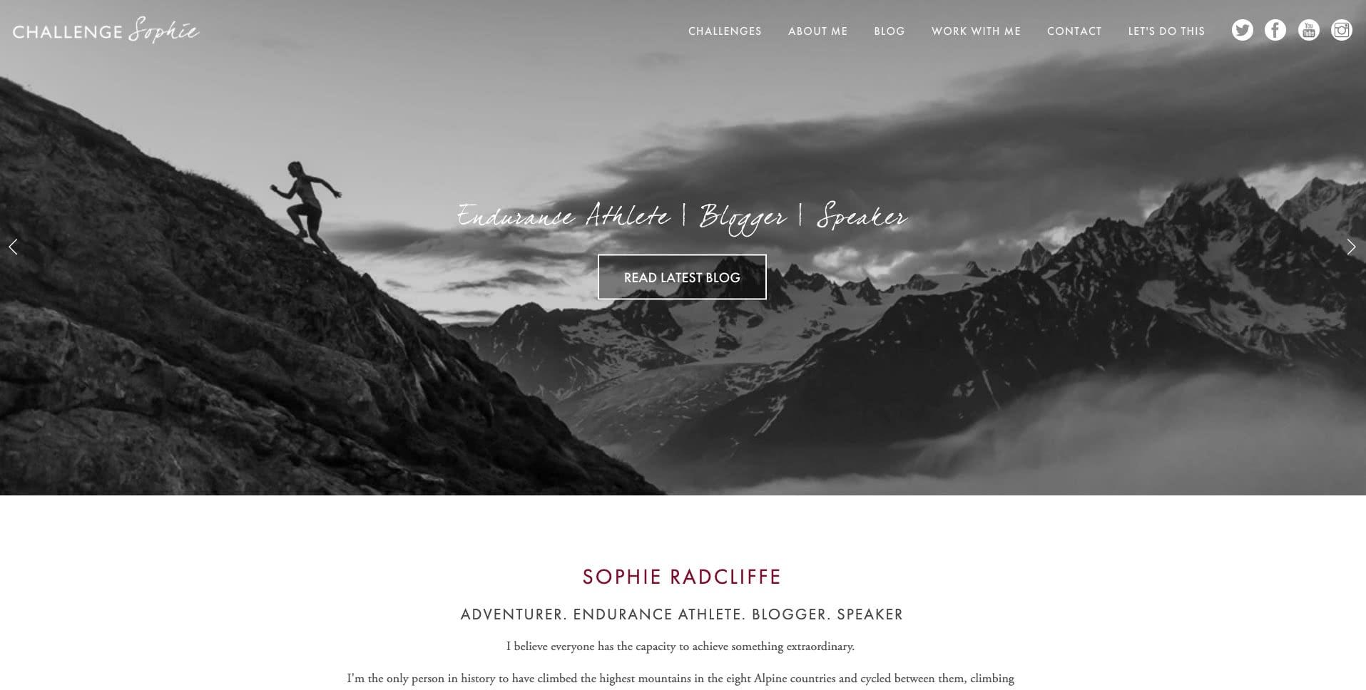 Challenge sophie blog sophie radcliffe