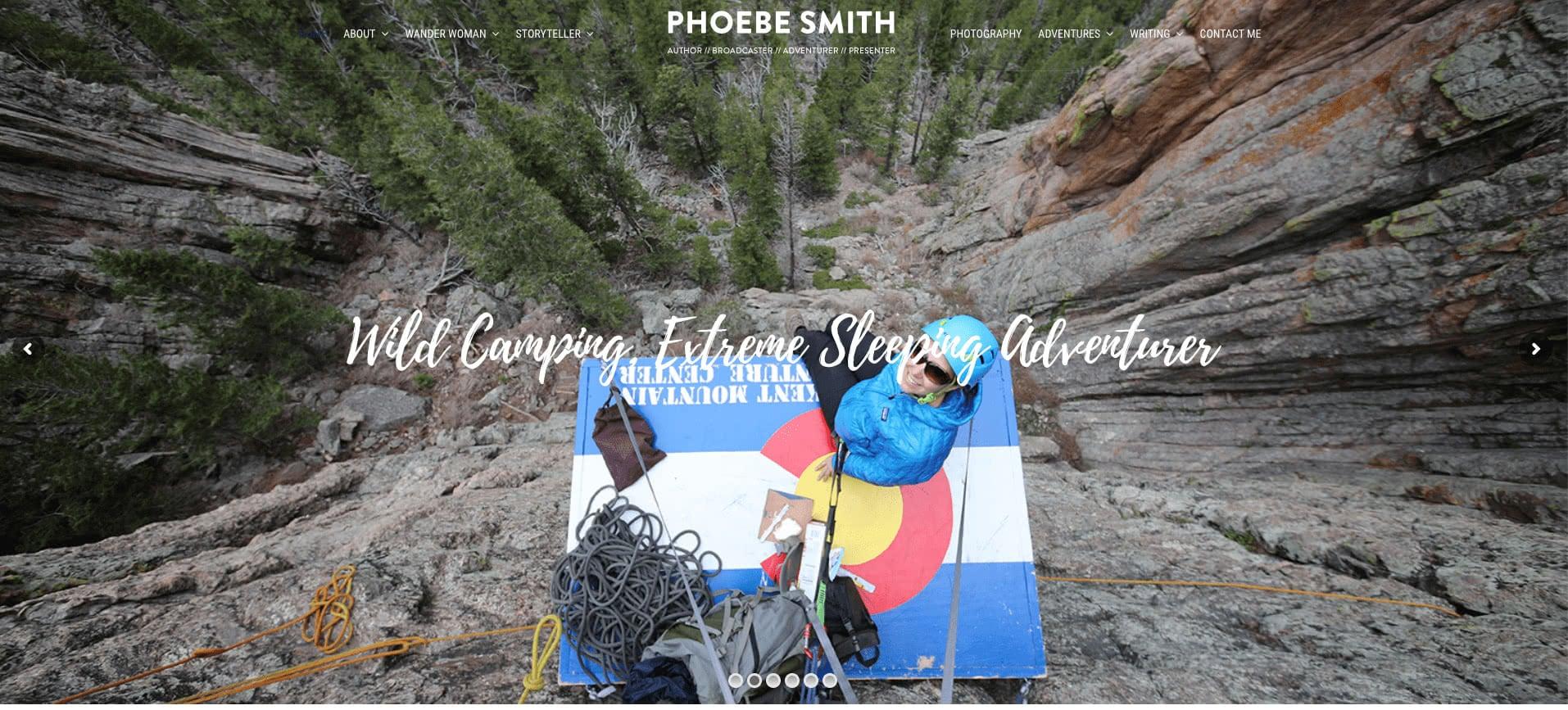 Phoebe Smith website