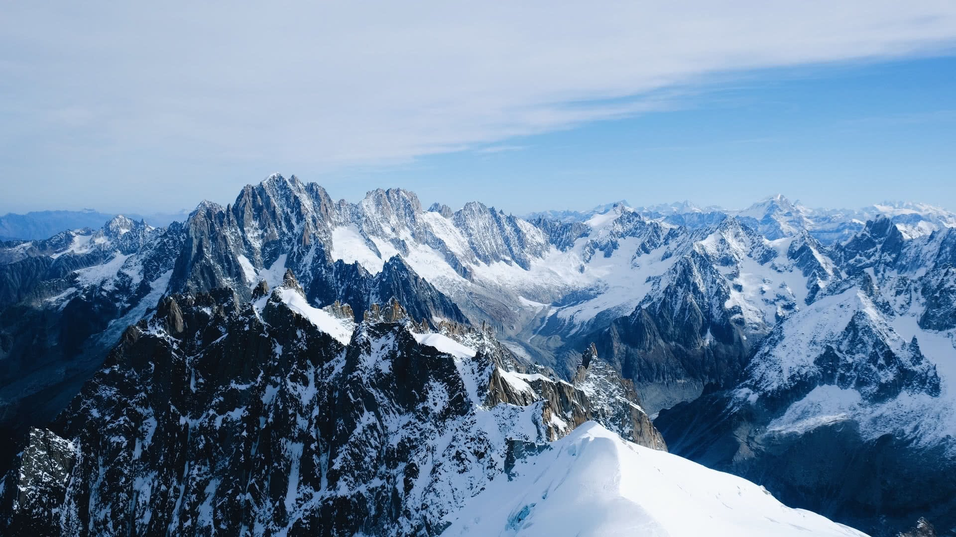 Chamonix mountains alps france