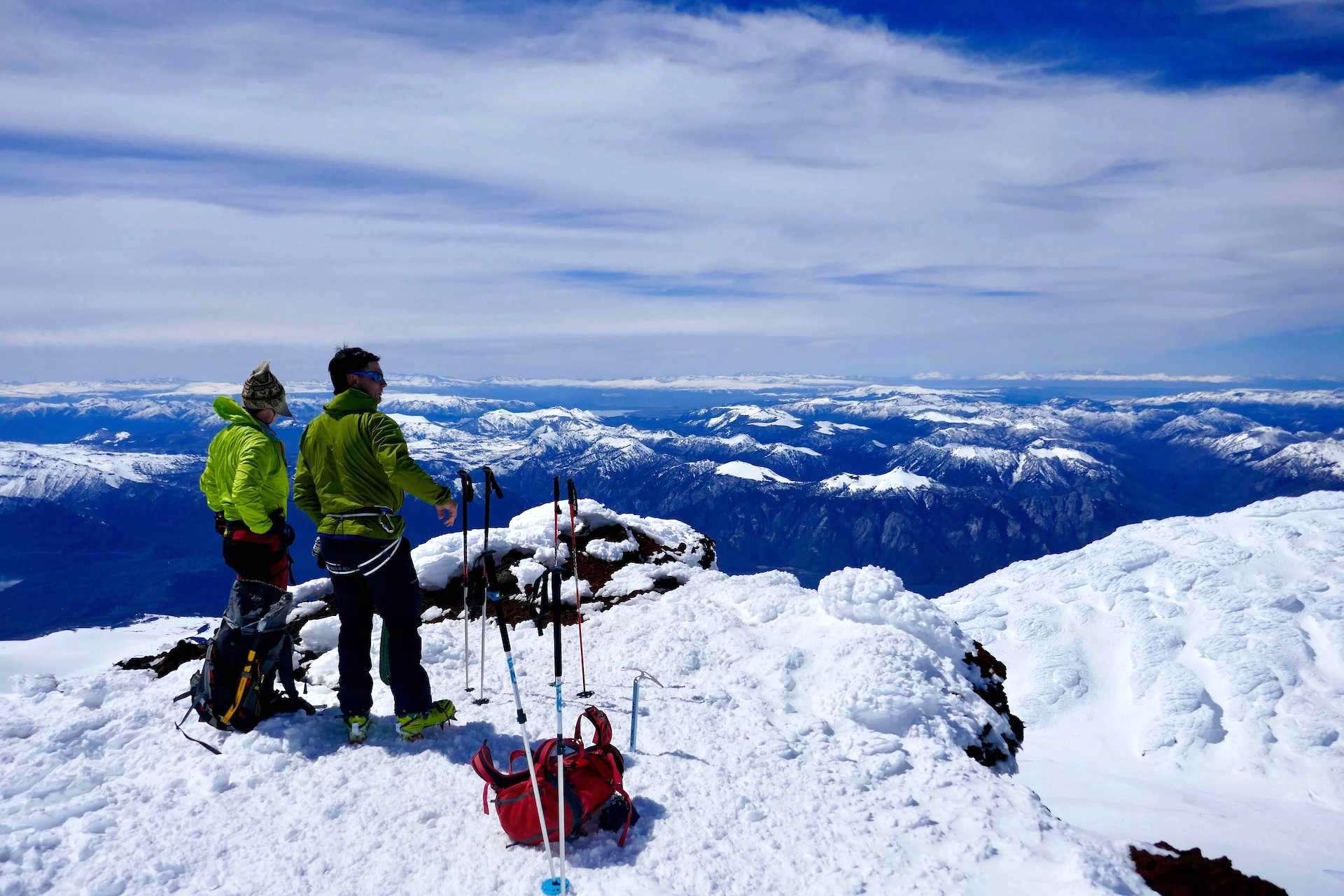 Ski touring Argentina