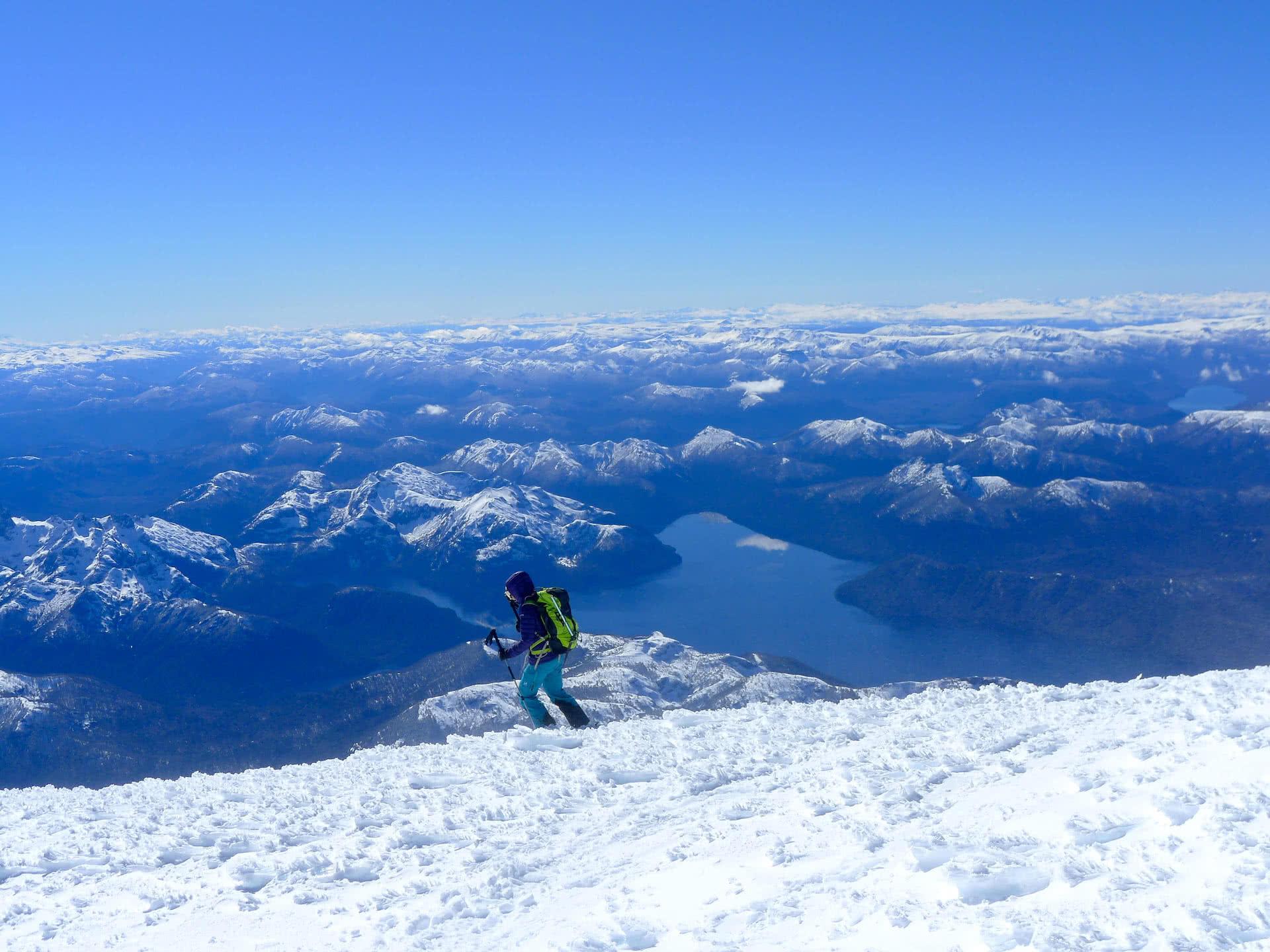 Offpiste skiing bariloche