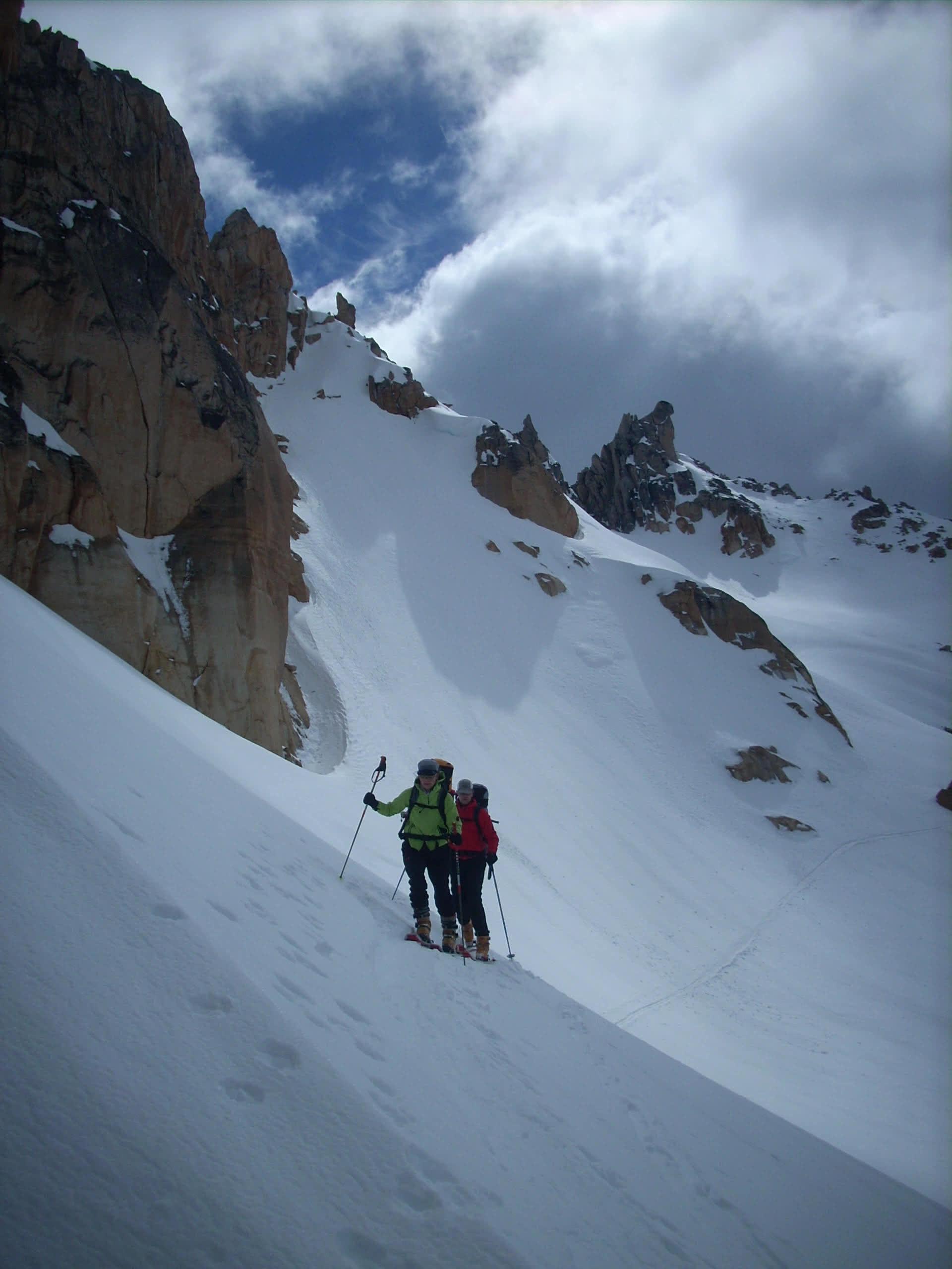 Ski touring Bariloche Argentina