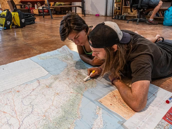 planning a bikepacking mountain biking route mexico