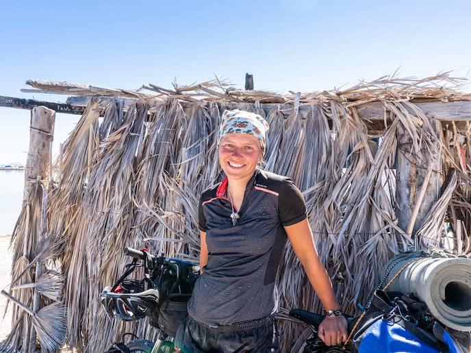 Maria polish cyclist
