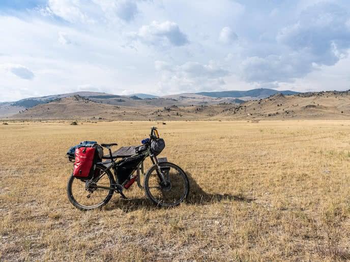 montana mountain bike for bicycle touring