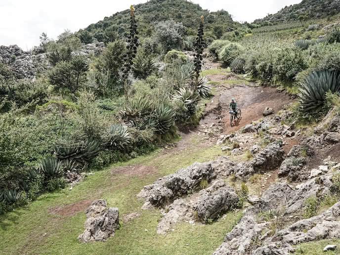 bikepacking cycling guatemala on mountain bike