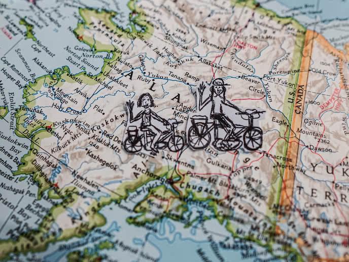 bikepacking alaska to panama on mountain bikes