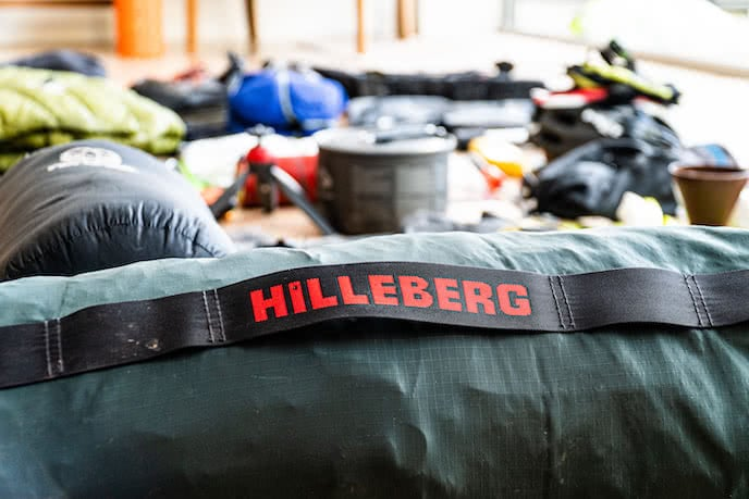 hilleberg tent great for wild camping in 4 seasons