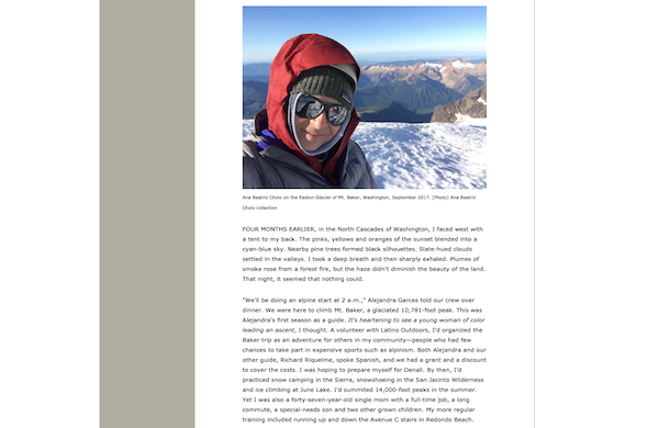 Alpinist mountaineering blog