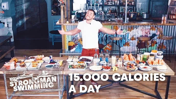 strongman ross edgley's diet