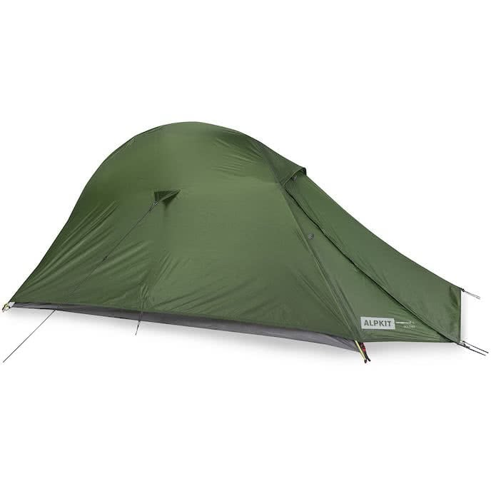 alpkit soloist wild camping tent