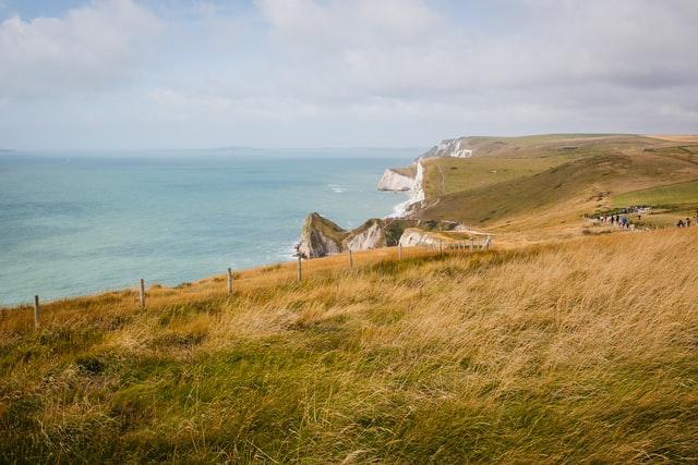 Jurassic coastline best hiking routes
