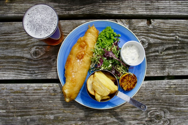 best fish and chips dorset england