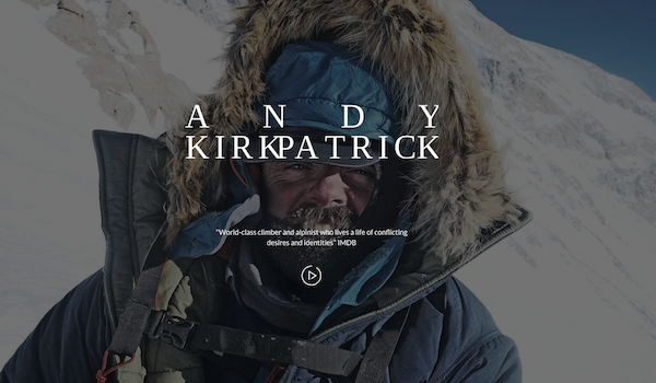 Andy Kirkpatrick blog