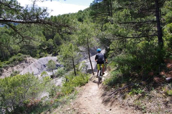 mountain biking pyrenees holiday france