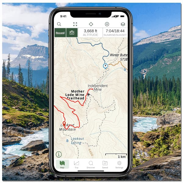 Gaia best camping apps for navigation