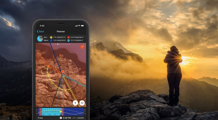 Phtopill best camping app for photography