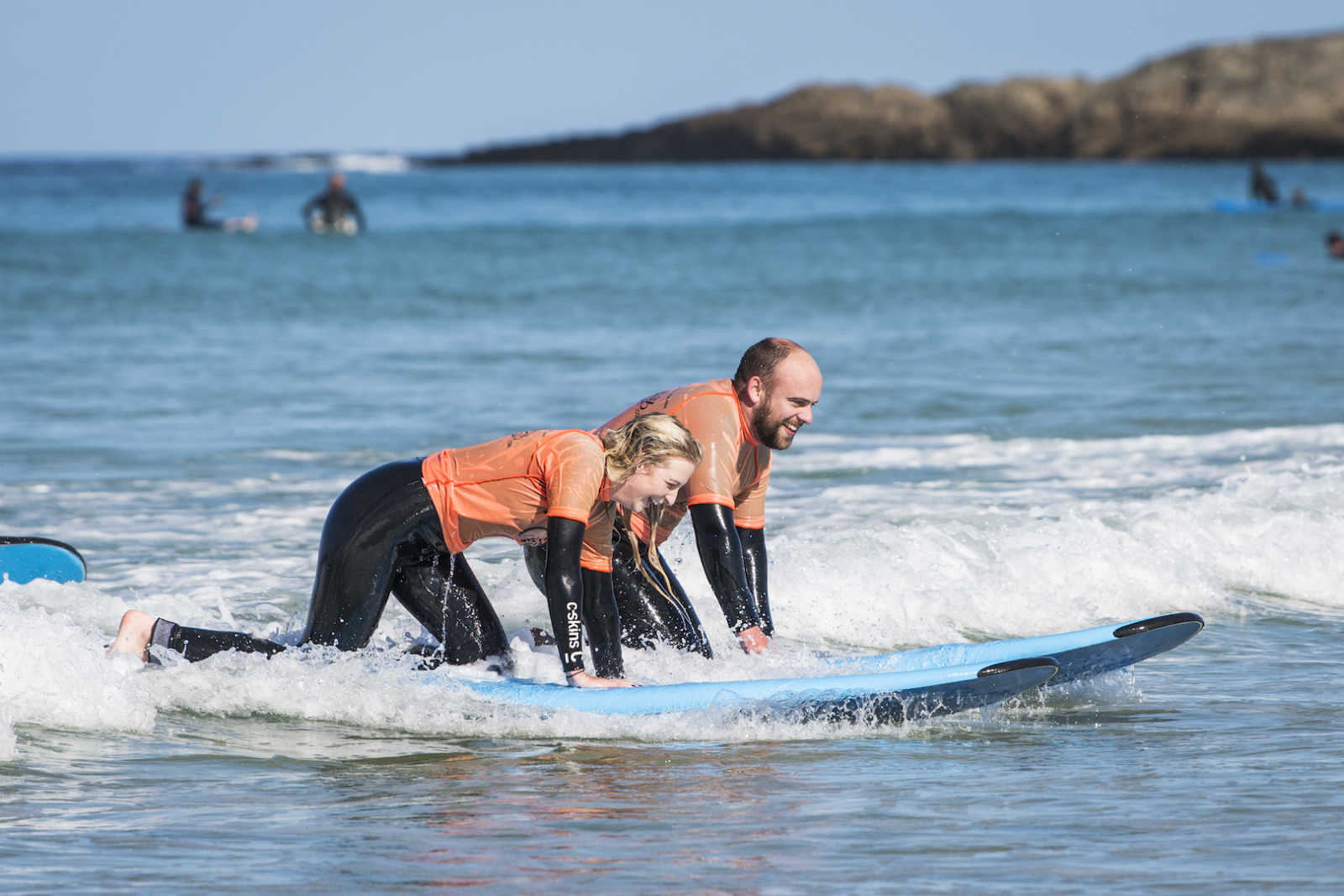 Beginner surf lessons Cornwall