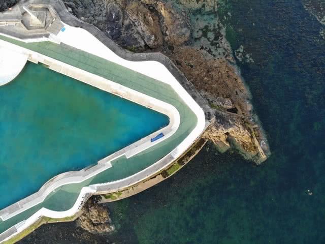 Wild swimming penzance Cornwall