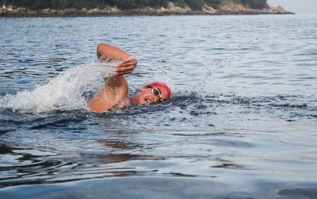 Open water swimming cornwall