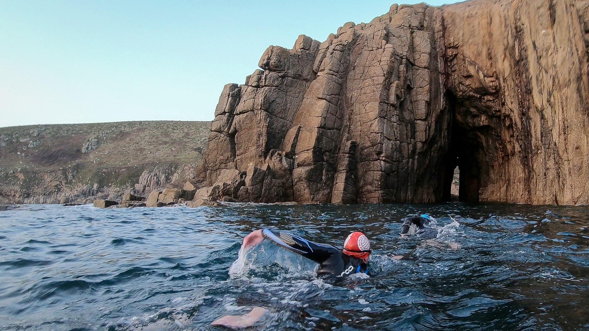 wild swimming west cornwall uk